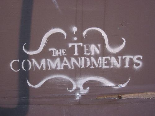 lauren b - 10 commandments