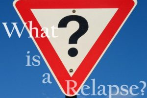 What is a relapse?   Libero Magazine