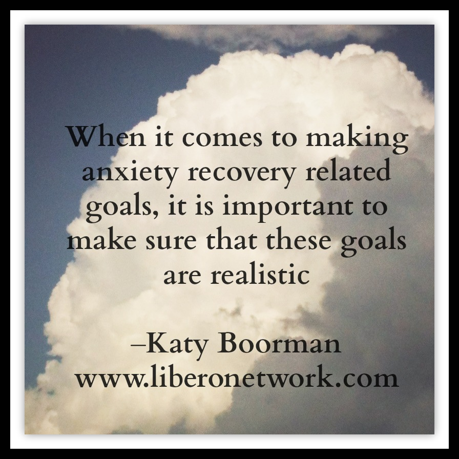 Setting Goals in Anxiety Recovery | Libero