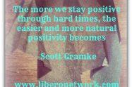 Staying Positive Gets Easier | Libero Magazine