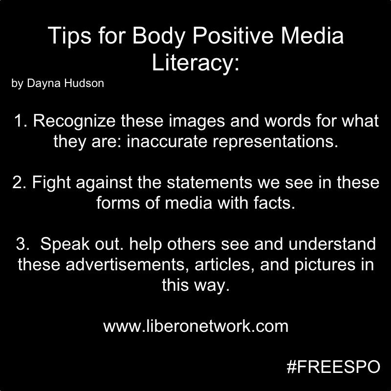 Tips for Body Positive Media Literacy | Libero