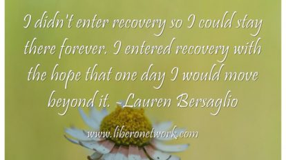 Note from the Editor: Life After Recovery | Libero Magazine