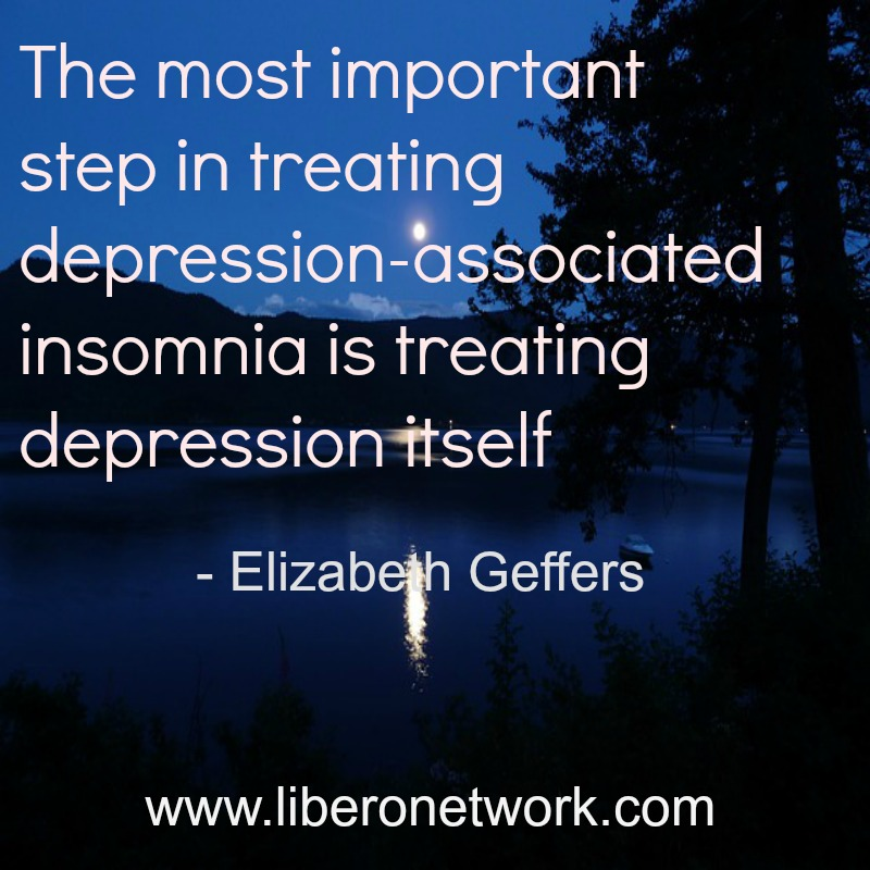 FAQ: How do I deal with the frustration of insomnia associated with depression? | Libero