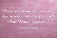 Recovery: An Ongoing Process | Libero Magazine