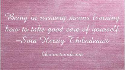 Recovery: An Ongoing Process   Libero Magazine