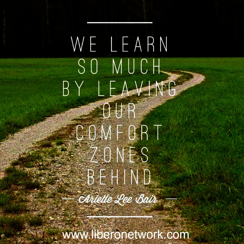 Finding Comfort Outside of the Comfort Zone | Libero 1