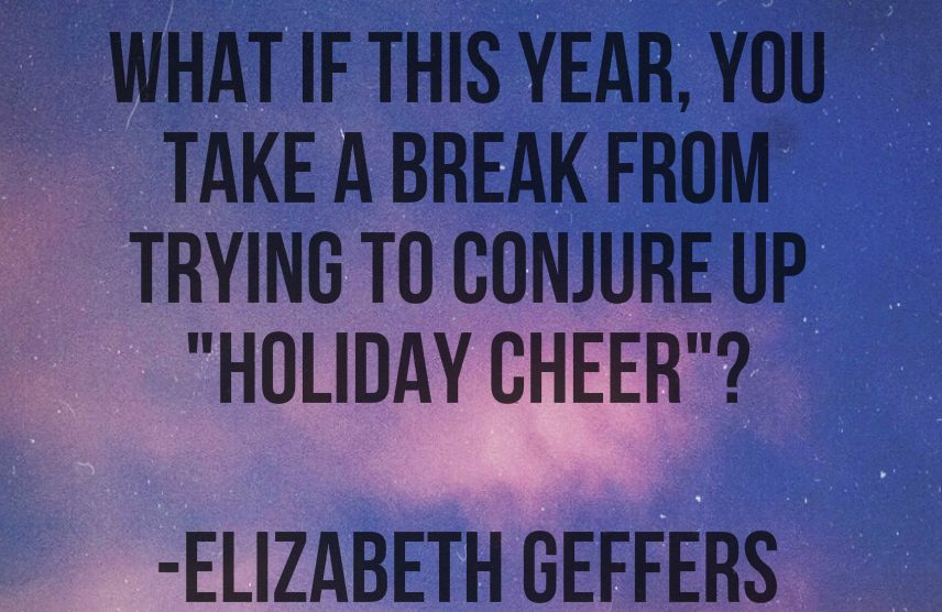 Giving Yourself A Holiday for Mental Health | Libero Magazine