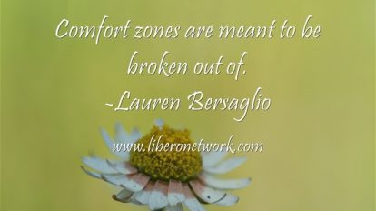 Note from the Editor: Stepping Out of Our Comfort Zones | Libero Magazine