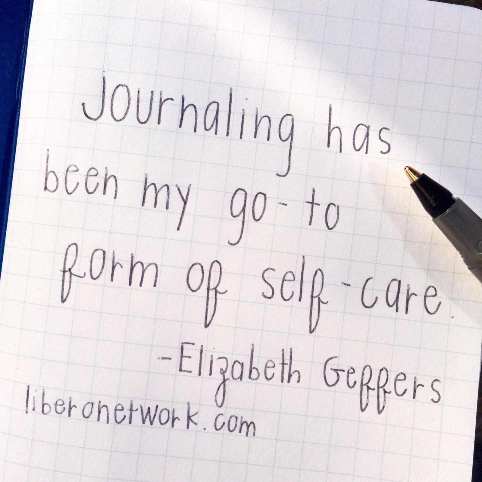 Journaling as a Self-Care Tool | Libero