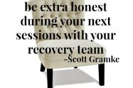 Being Honest with Your Recovery Team | Libero Magazine