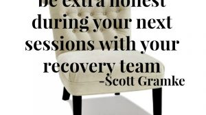 Being Honest with Your Recovery Team   Libero Magazine