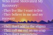 The People Who Motivate My Recovery | Libero Magazine