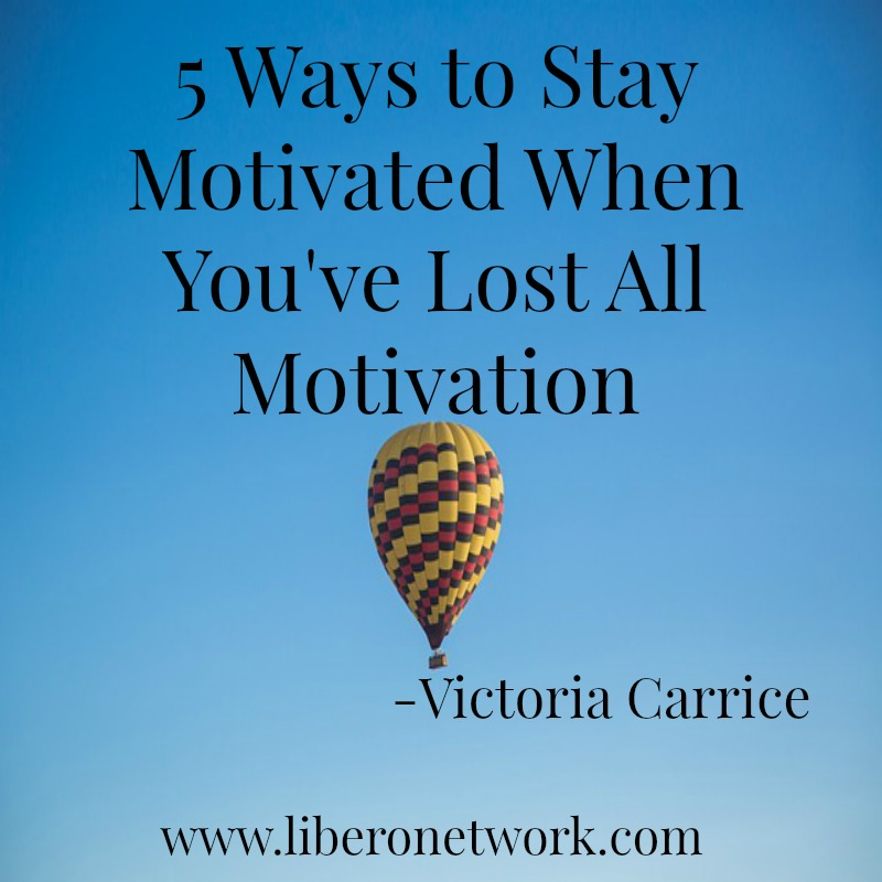 5 Things to Do When You've Lost All Motivation   Libero Magazine