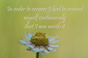 Note from the Editor: You're Worth Recovery | Libero Magazine