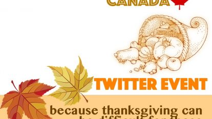 Join Us this Thanksgiving Weekend #THX4SUPPORT | Libero Magazine
