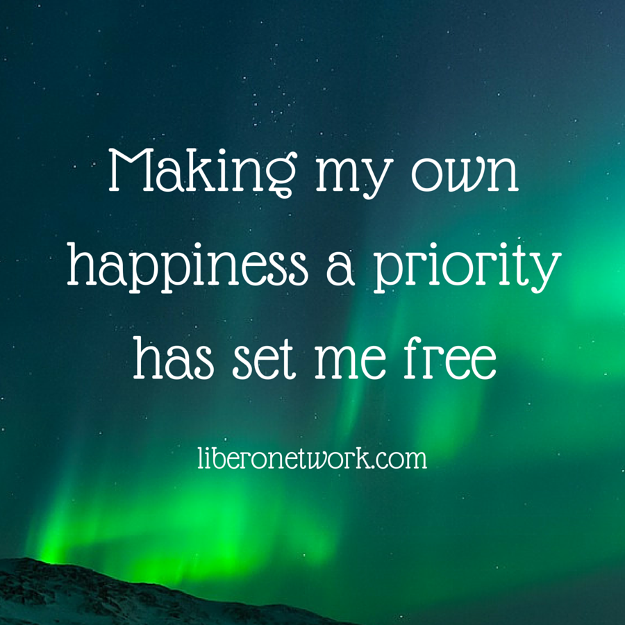 Making my Happiness a Priority | Libero Magazine