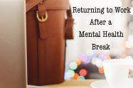 Returning to Work After a Mental Health Break | Libero Magazine
