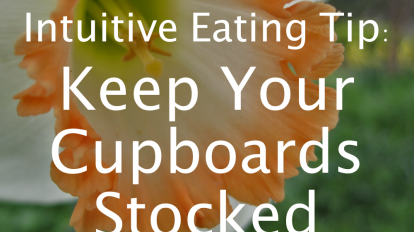 Intuitive Eating Tip: Keep Your Fridge Stocked | Libero Magazine