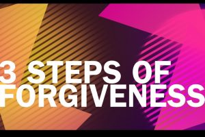 Video: 3 Steps of Forgiveness | Libero Magazine