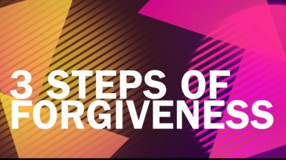 3 Steps of Forgiveness | Libero Magazine