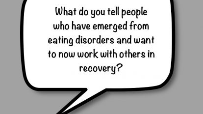 Question: Working in the recovery field after recovery?   Libero Magazine