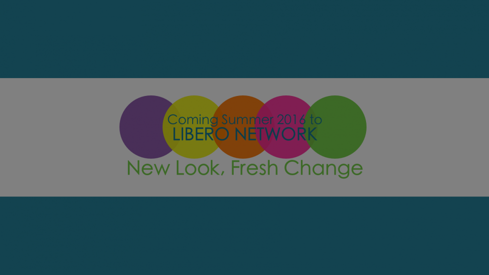 We are Rebranding--Stay Tuned!   Libero Magazine 2