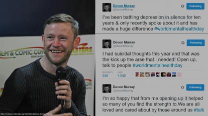 Harry Potter Actor Tweets About Depression   Libero Magazine
