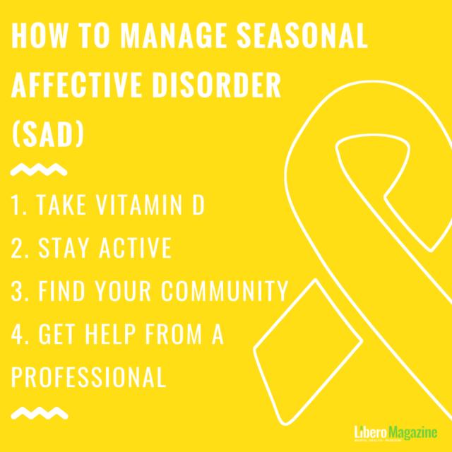 How to Manage Seasonal Affective Disorder (SAD) | Libero