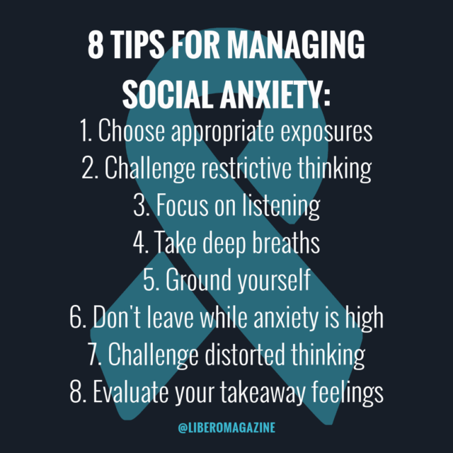 tips managing social anxiety
