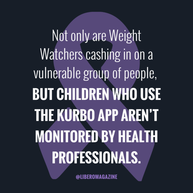 weight watchers kurbo app