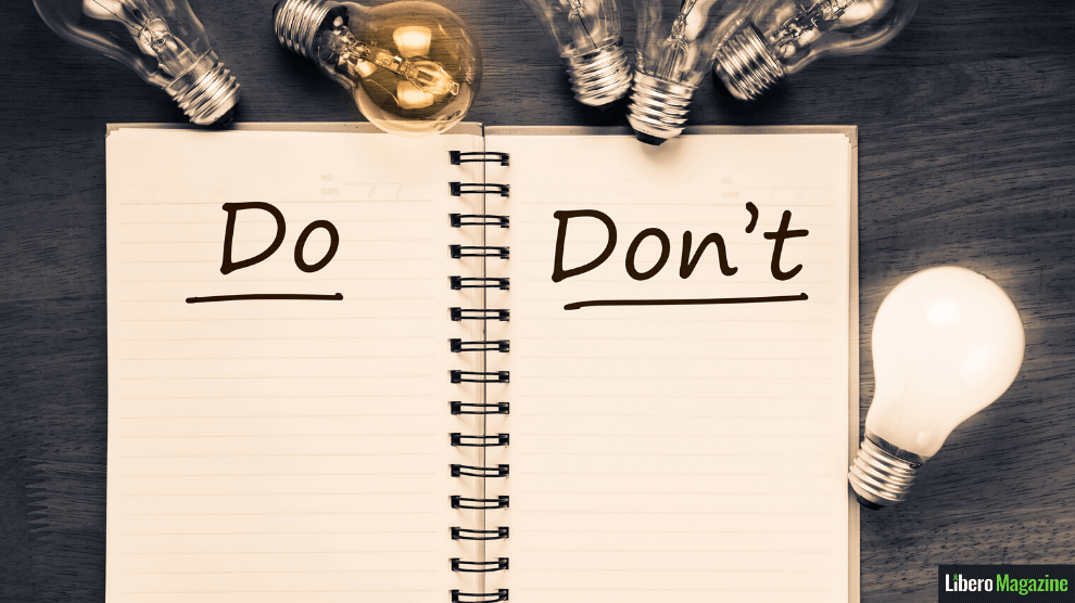 burnout not-to-do list