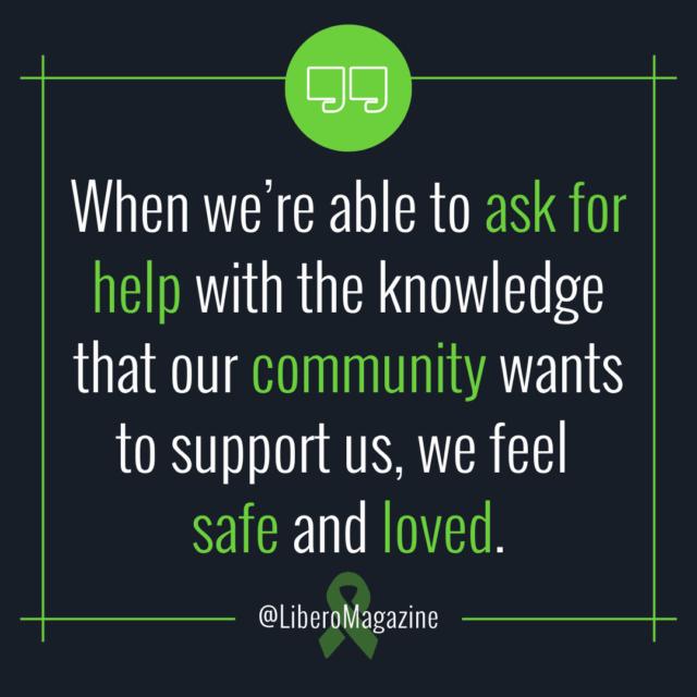 mental health community quote