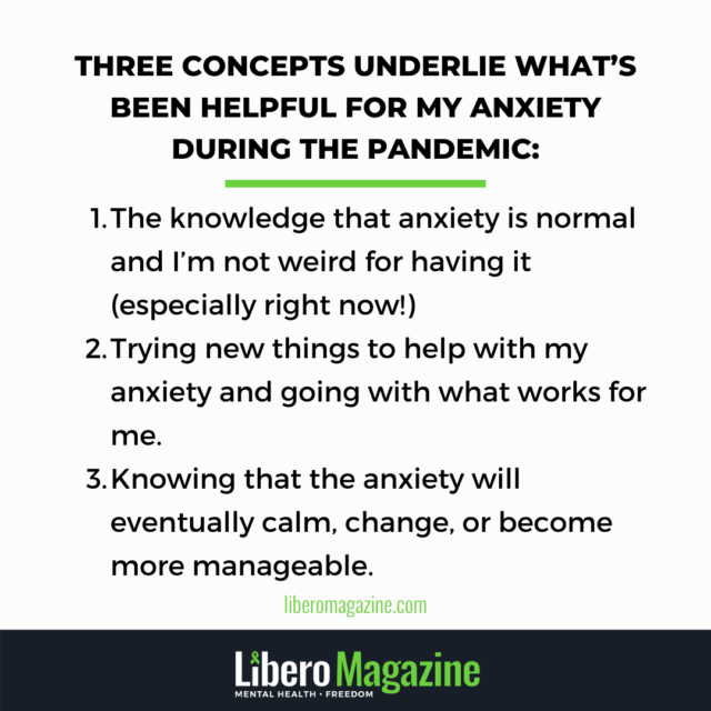 Anxiety during a global pandemic (2)