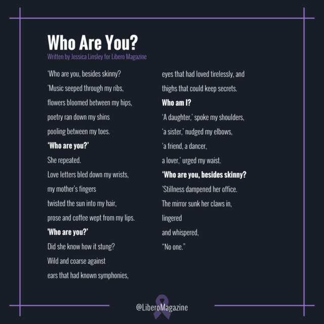 who are you poem