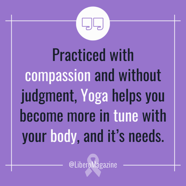 body positivity yoga with journal prompts