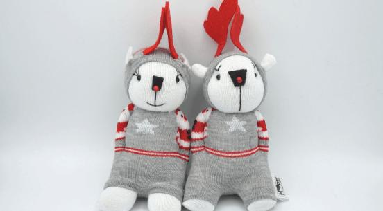 handmade reindeer stuffy (1)
