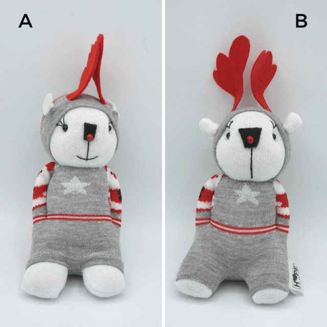 handmade reindeer stuffy (2)