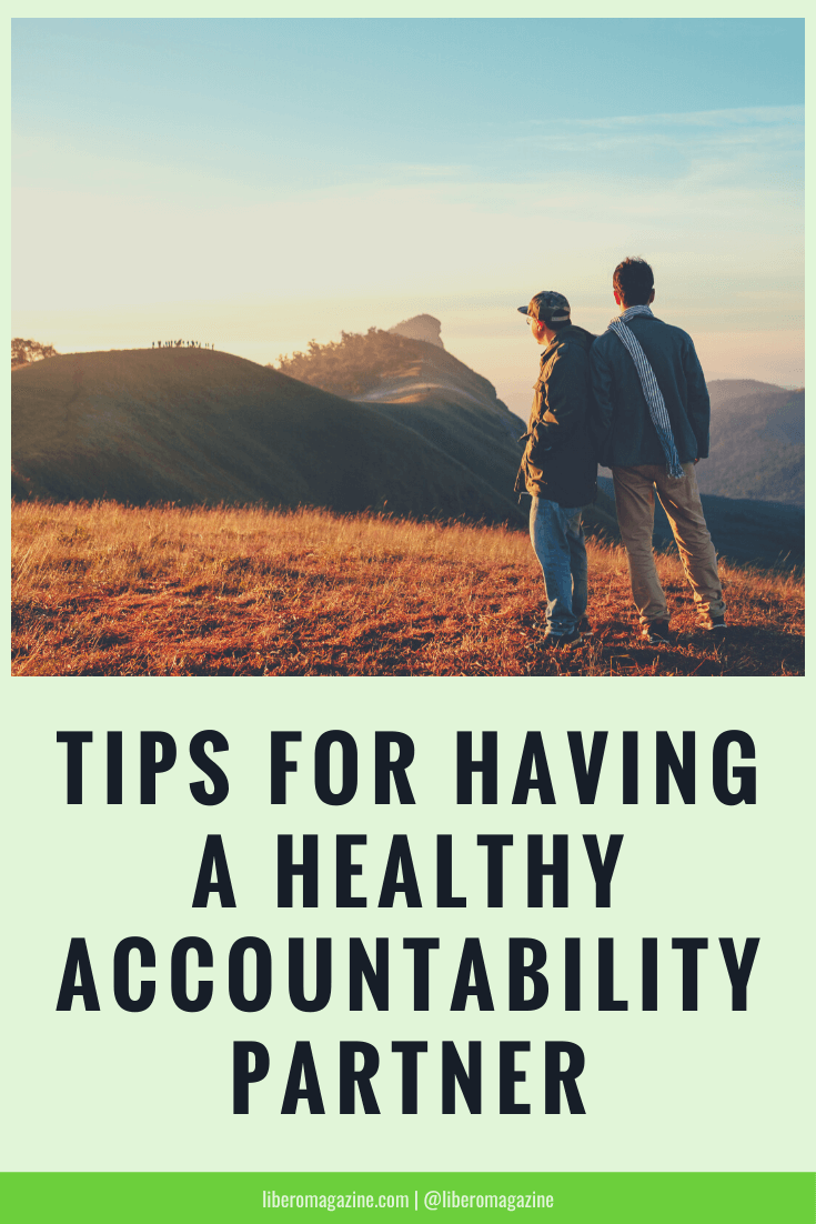 tips for healthy accountability partner