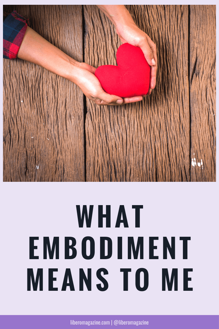 what embodiment means to me pinterest