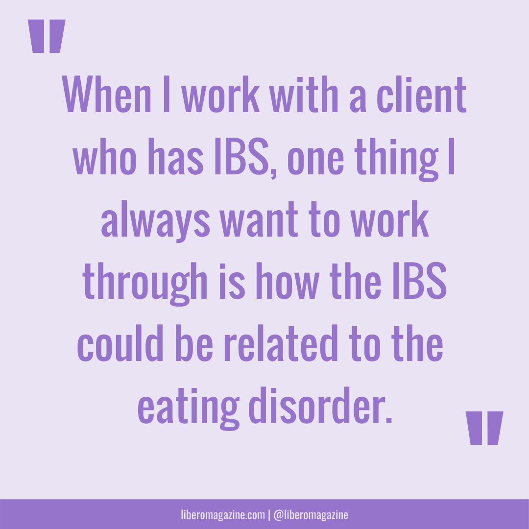 IBS in eating disorder recovery