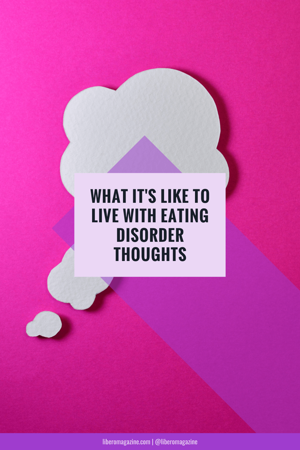 living with eating disorder thoughts