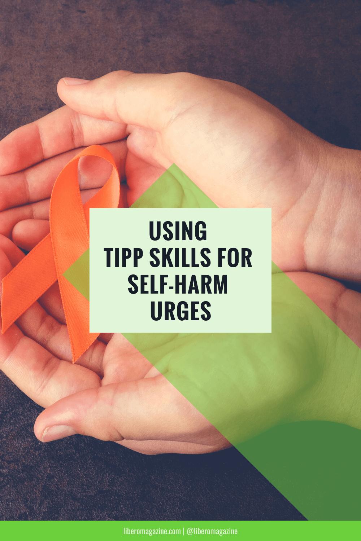 TIPP skills for self harm pinterest
