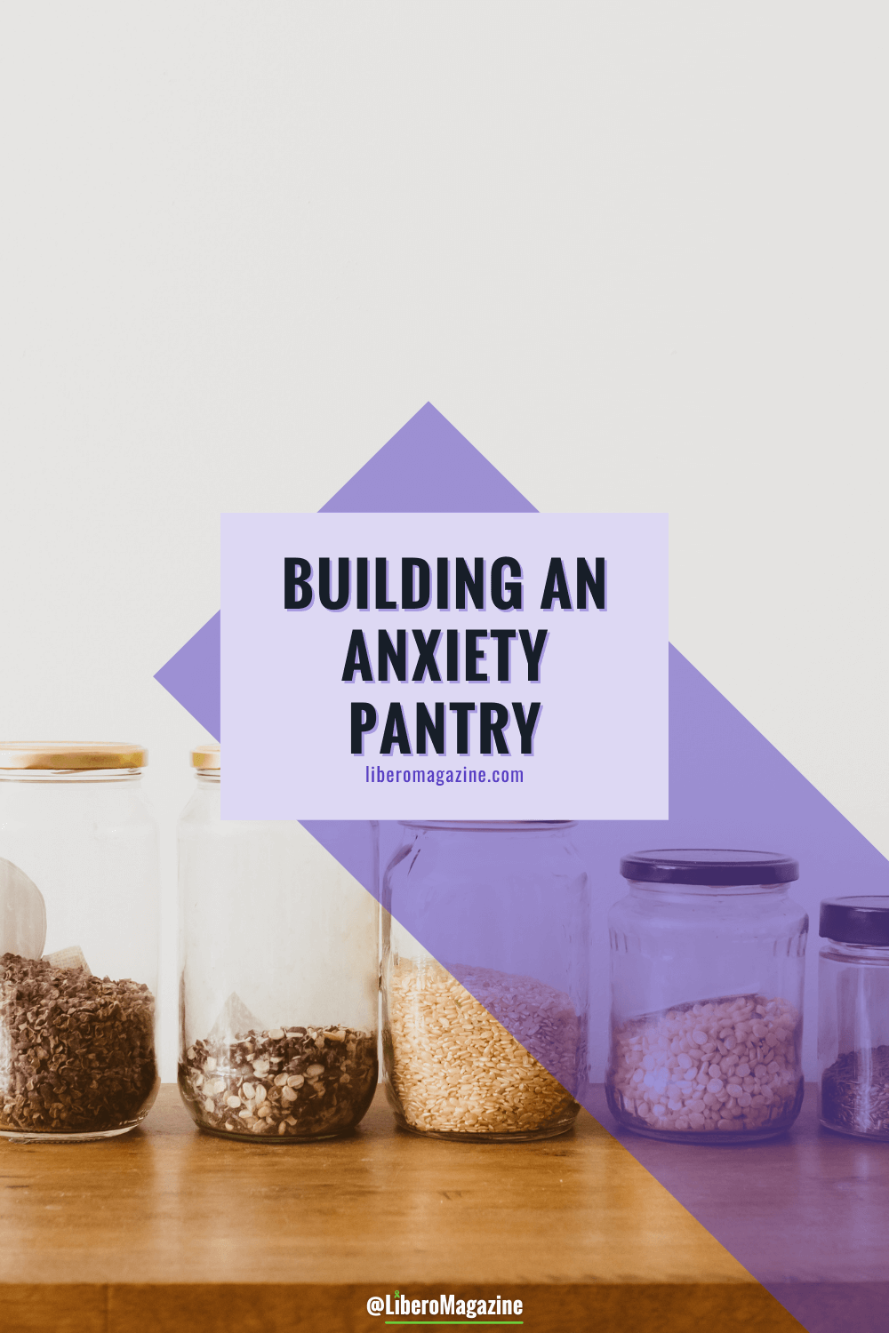 anxiety pantry pinterest