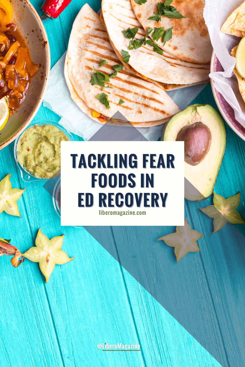 tackling fear foods in recovery pin image