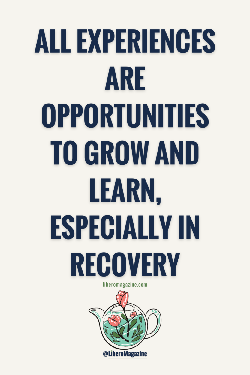eating at restaurants in eating disorder recovery quote pin