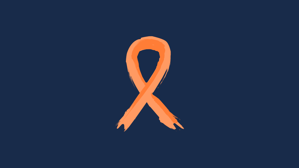 if you find suicide prevention month triggering - orange ribbon