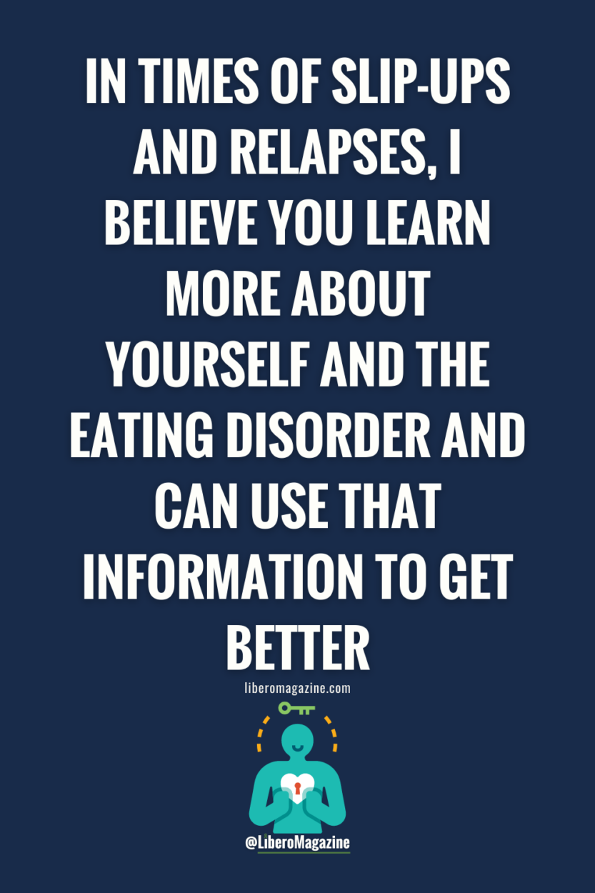 tips for eating disorder recovery in the fall - quote for pinterest