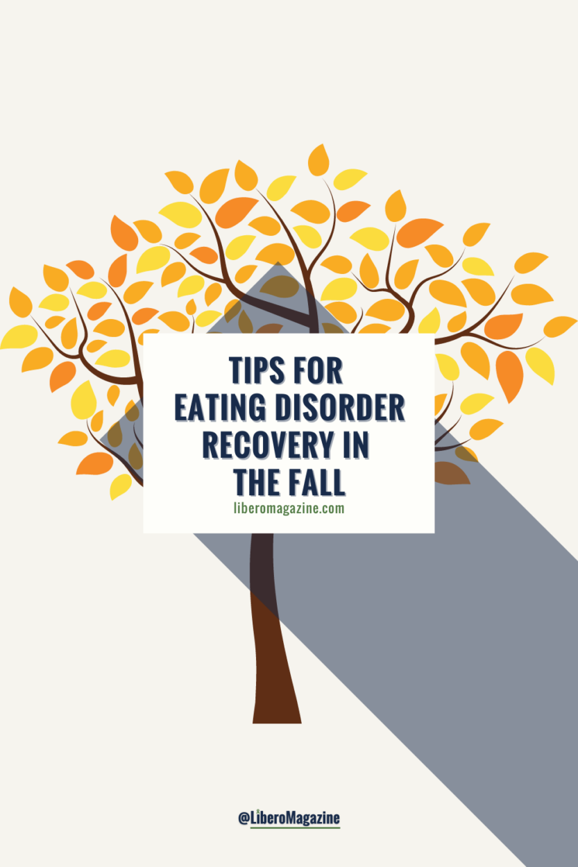 tips for eating disorder recovery in the fall - fall tree